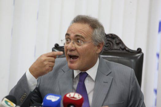 Presidente da OAB defende afastamento imediato de Renan Calheiros